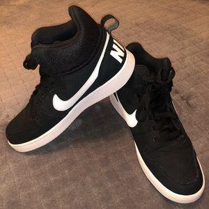 Nike Court Borough Mid Men's Shoes Black/white